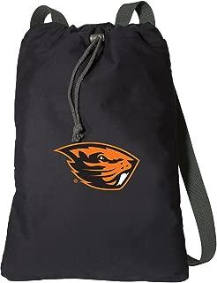 Broad Bay Oregon State University Drawstring Backpack Rich Canvas OSU Beavers Cinch Bag