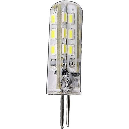 Scheibe - warm-white 1W High-Power-LED 80Lm G4 LED Stiftsockel