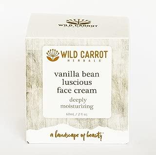 Vanilla Bean Luscious Face Cream Wild Carrot Herbals 60 mL Liquid