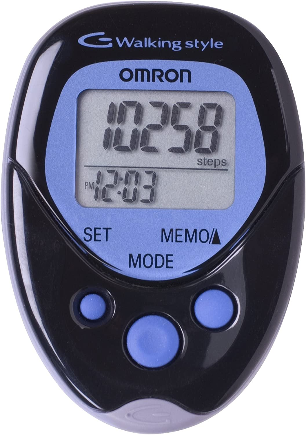 Omron Hj-113 Selling rankings Pocket Pedometer Walking Count Black Max 46% OFF Style Pa 1