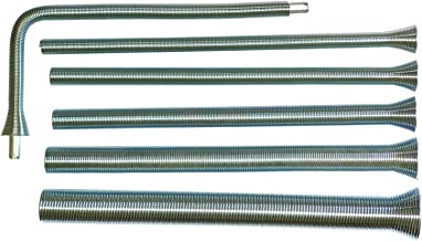 ZhenT Spring Tube Bender 6Pcs Set 1/4'', 5/16'', 3/8'', 7/17'', 1/2'', and 5/8'' for Copper,Aluminum and Thin Wall Steel Tubing
