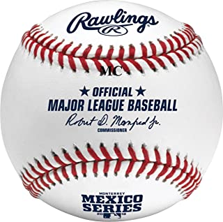 Rawlings Official Mexico Series Monterrey MLB Game Baseball Dodgers Padres