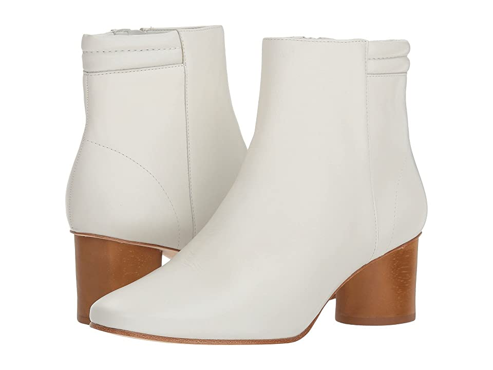 Retro Boots, Granny Boots, 70s Boots Bernardo Izzy Boot White Glove Womens Boots $298.00 AT vintagedancer.com
