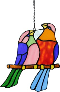 Stained Glass Pet Bird #5