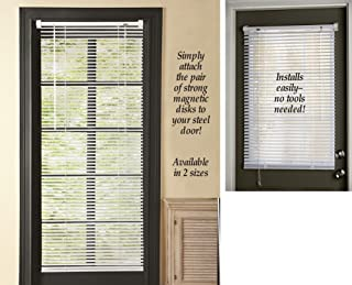 Magnetic Window Blinds White 25