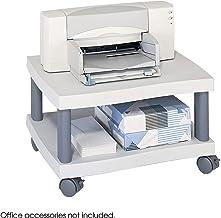 Safco Wave - Soporte de Impresora, para Debajo del Escritorio, Color Gris