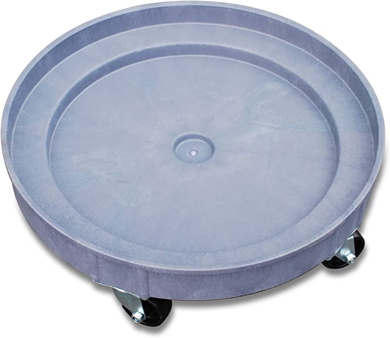 JLTC PDD35 Plastic Drum Dolly For 30 Gal And 55 Gal Drums 900 Lb Capacity