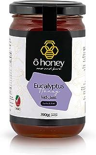 Eucalyptus Honey Jar of 390g, Honey Mustard, Honey for Men & Women, Used as a Honey Cake and Honey Dust, Natural Honey Wa...