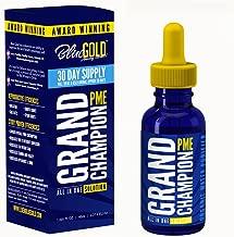 Blue Gold Grand Champion 30 Day Pet Supplement Study Proven Against Leading Pet Antibiotic. Preventative Pet Dewormer. Increase Pet Health Immune Energy Appetite/Water Intake. Pet Vitamin Fix BioFilm.