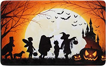 "Coitak Halloween Decorative Doormat, Indoor Outdoor Doormat Non Slip, Perfect Greeting Front Door Mat (24"" x 15.5"")"