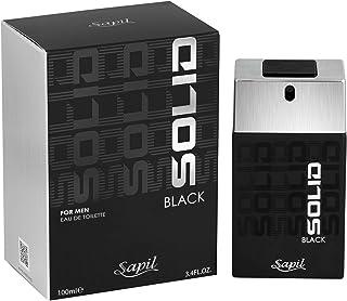 SAPIL Solid Black Men's- Perfume, 100Ml