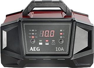 AEG 158008 Werkstatt-Ladegerät WM 10 Ampere für 6 und 12 Volt Batterien, mit..