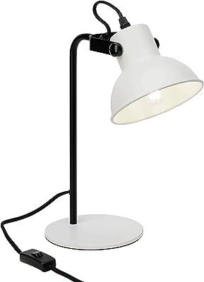 Brilliant Lampada da Tavolo, Bianco Opaco/Nero