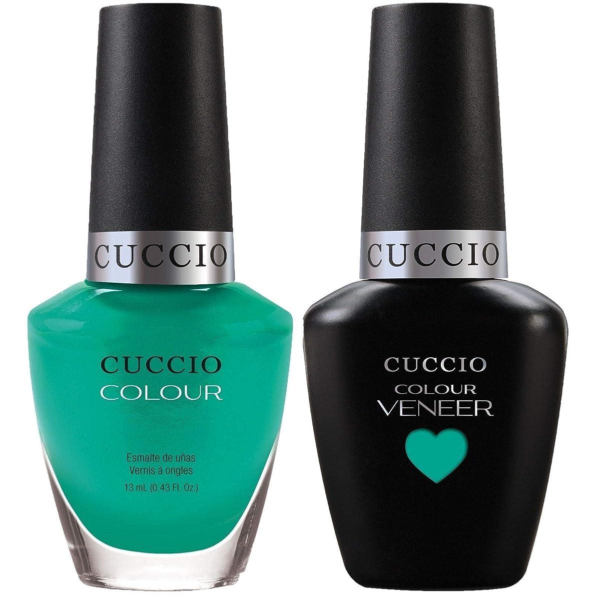 試用チャールズキージング価値Cuccio Match Makers - Veneer Gel & Lacquer - Make A Difference - 0.43oz / 13ml Each