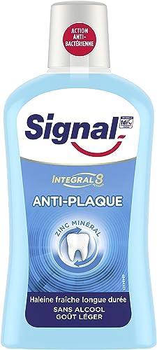 Signal Bain de Bouche Antibactérien Integral 8 Protection Complète, 500ml