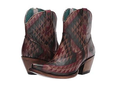 Ariat Circuit Cruz (Eye Dazzler Aztec) Cowboy Boots