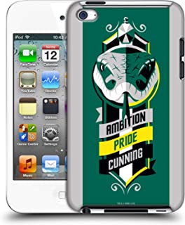 Official Harry Potter Slytherin Deathly Hallows VI Hard Back Case Compatible for Apple iPod Touch 4G 4th Gen