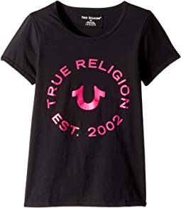 True Religion Kids - Logo Horseshoe Tee (Big Kids)