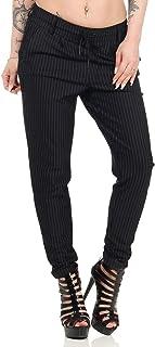 Only Onlpoptrash Classic Pinstripe Pant Noos Pantalon Femme