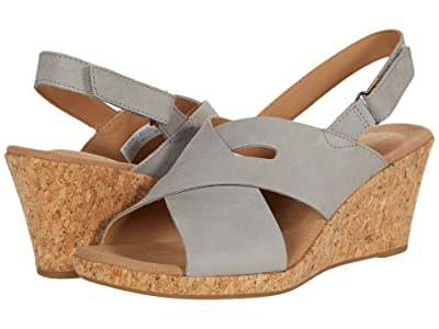 Rockport Briah Slot Sling (Dove Nubuck) Women