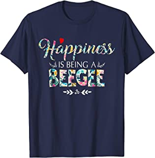BEEGEE - Womens Happiness is being a BEEGEE Shirt