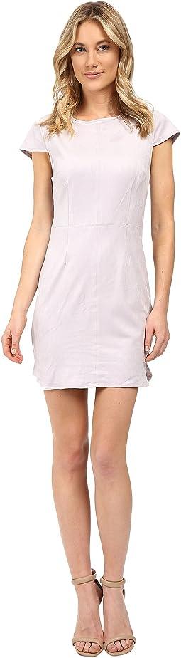 Stretch Suede Dress KSNU7222