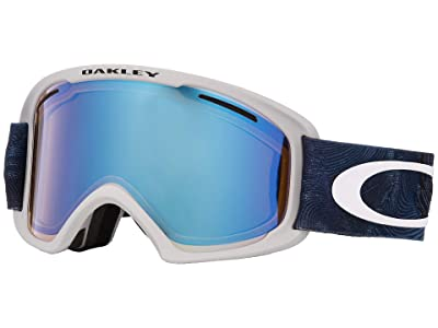 Oakley O Frame 2.0 XL (Mystic Flow Poseidon w/ Hi Yellow Iridium/Dark Grey) Goggles