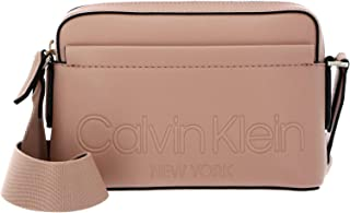 Calvin Klein Camera Bag With Pocket Dusty Rose