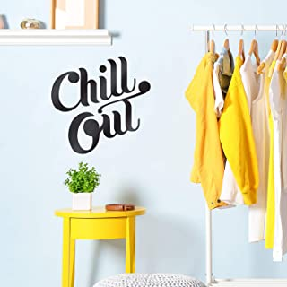 Vinyl Wall Art Decal - Chill Out - 22