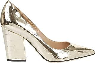 SERGIO ROSSI Luxury Fashion Womens A85322MVIL108125 Gold Pumps | Fall Winter 19