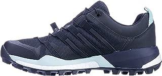 adidas Women's Terrex Skychaser GTX Trail Running Shoes, Carbon/Core Black/Ash Green