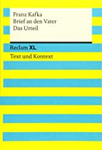 Brief an den Vater / Das Urteil. Textausgabe mit Kommentar und Materialien: Reclam XL - Text und Kontext