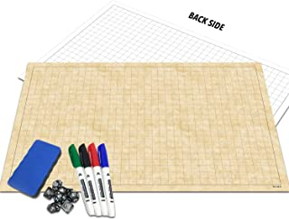 RPG Battle Grid Game Mat | 24