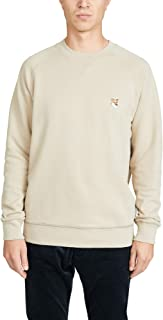 Men's Long Sleeve Sweatshirt with Fox Head Patch