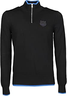 Kenzo Luxury Fashion Mens F965PU5003AB99 Black Sweater | Fall Winter 19