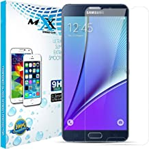 MXX -  Note 5 Screen Protector, Tempered Film for Samsung Galaxy, N920 Note 5, Retail Packaging - HD Glass