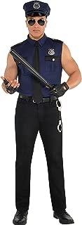 amscan Adult Under Arrest Cop Costume - Medium (40-42)