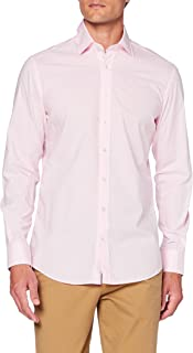 Hackett London Mini Ging Eng Str Camisa para Hombre