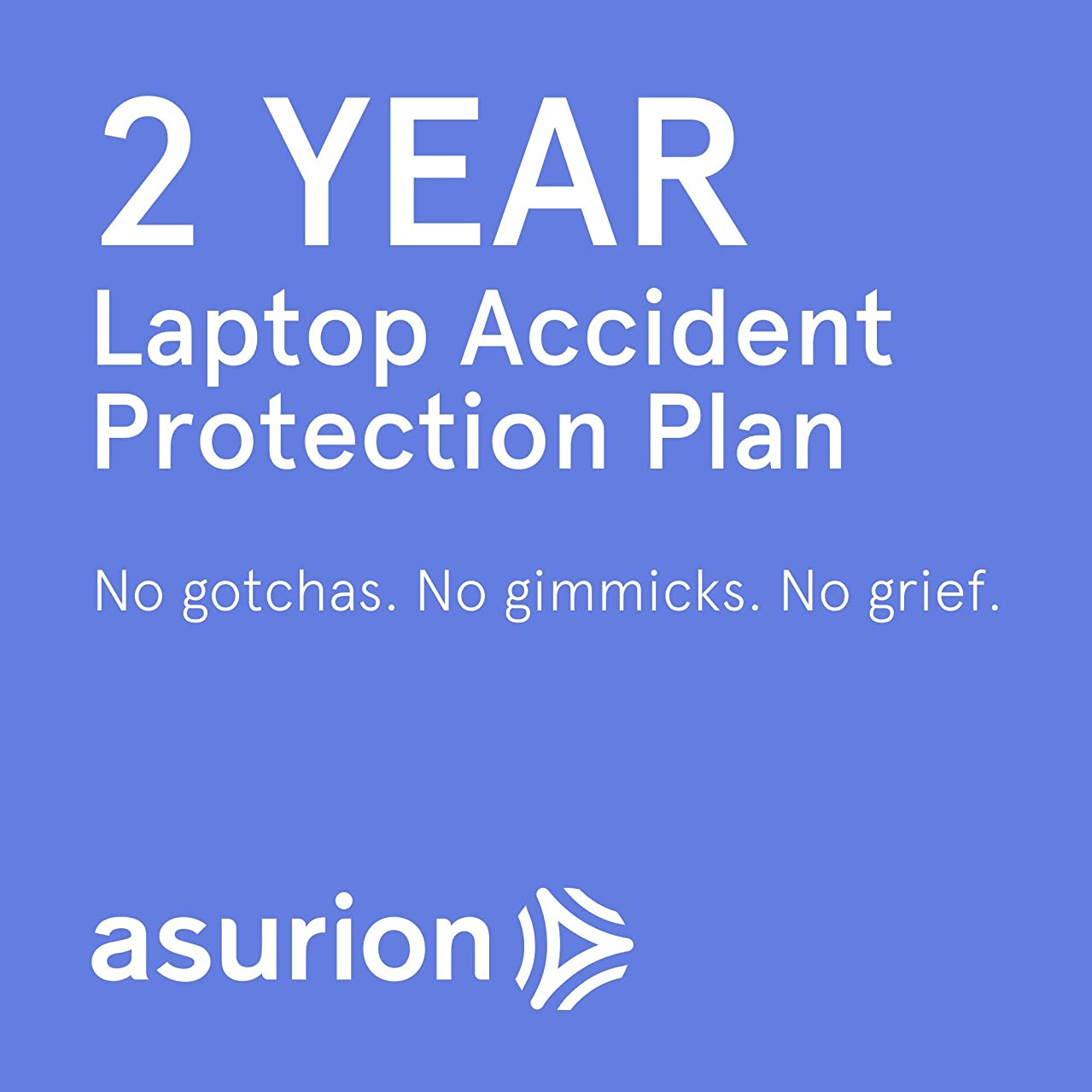ASURION 2 Year Laptop Accident Protection Plan $100-124.99