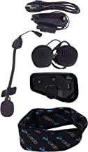 Cardo FREECOM 4+ Bluetooth Motorcycle Helmet Communication Headset JBL Audio with Cardo Logo Neck Gaiter (FREECOM 4+)