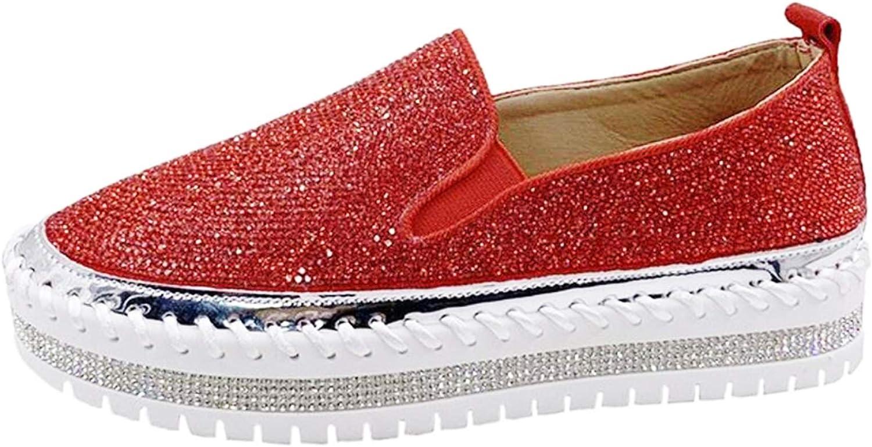 KaieeKeio Fashion Sneaker for Women Slip on Shoes Girls