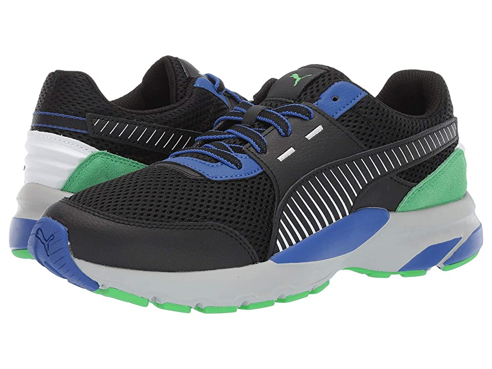 PUMA Future Runner Premium (Puma Black/Surf the Web/Andean Toucan) Men