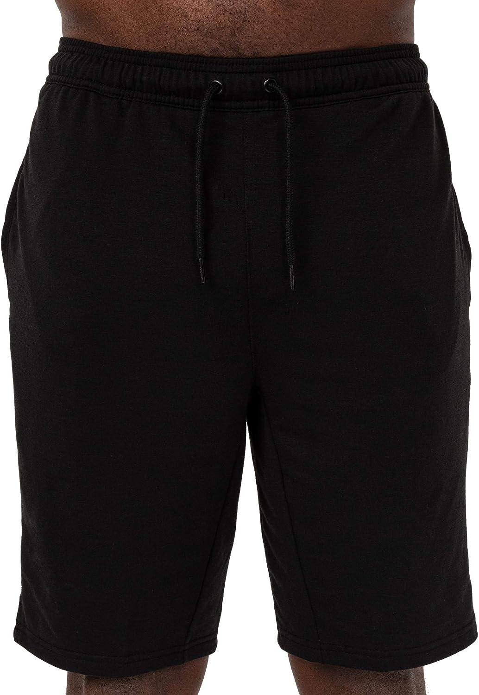 Layer 8 Men's Knit Short Quickdry Stretch Athletic Short Nine Inch Inseam