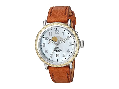 Shinola Detroit The Runwell Coin Edge Moon Phase 38mm - 20109235