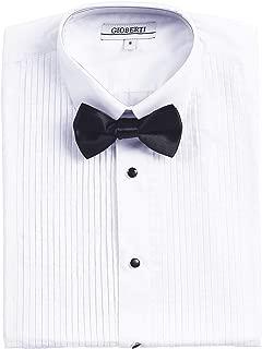 boys ivory tuxedo shirt