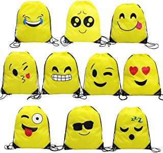Best emoji drawstring bags Reviews