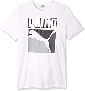 PUMA Men's Graphic Box Logo Tee