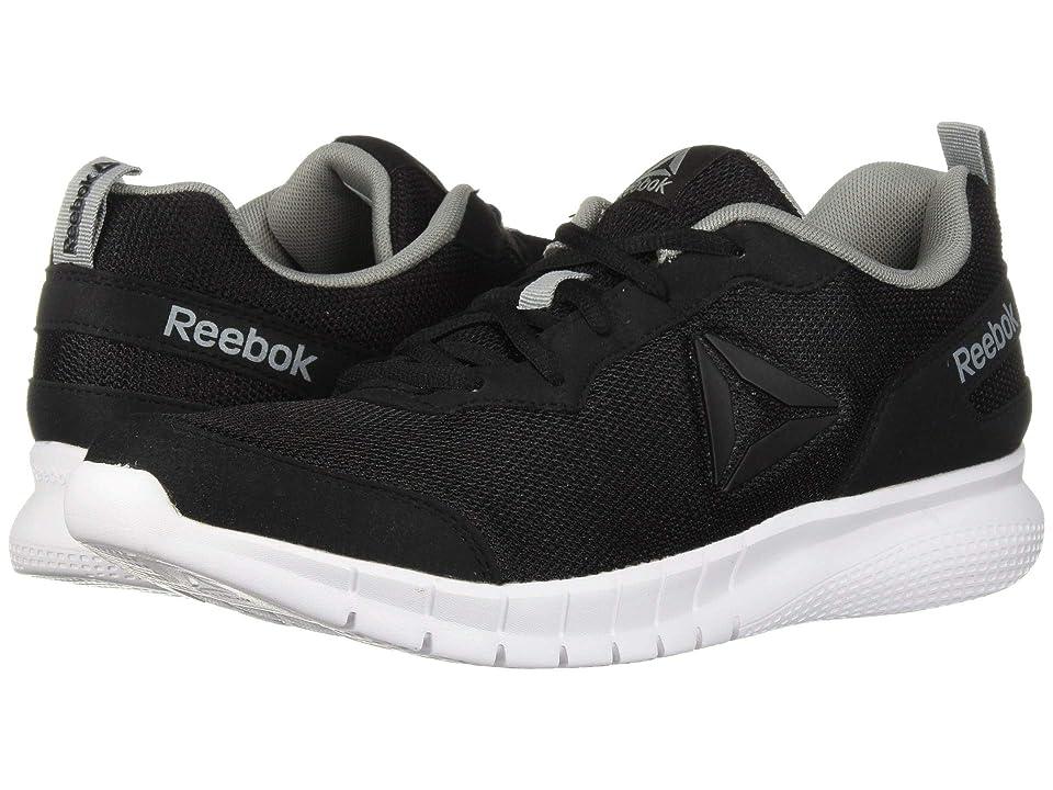 Reebok AD Swiftway Run (Black White Flint Grey) Men s Shoes c424eaab1