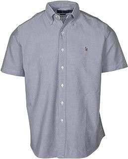 Polo RL Men's Slim Fit Short Sleeve Pony Oxford Shirt
