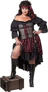 California Costumes Women's Plus-Size Pirate Wench Costume